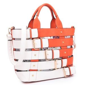 Handbags - 2-In-1 Medium Tote with Buckle Details